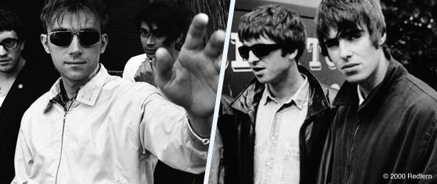 Oasis vs Blur - The Ultimate Britpop Battle